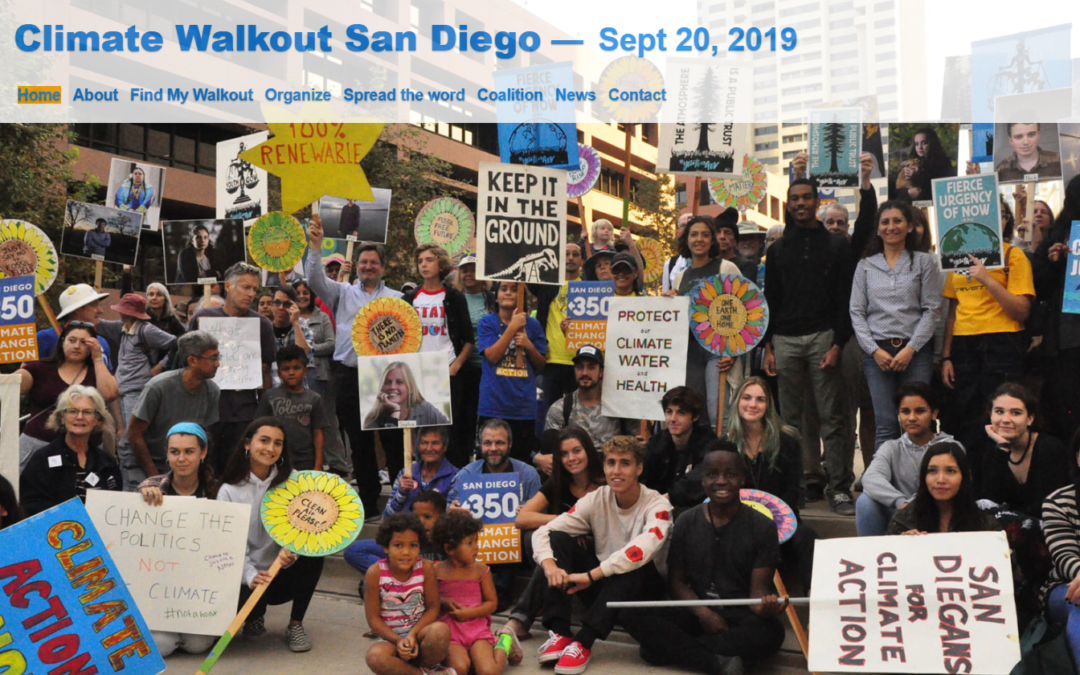 Climate Walkout San Diego Sep 20 2019