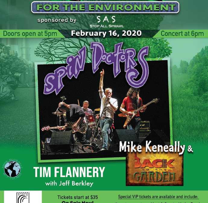 Rock for the Environment Event Feb 2020