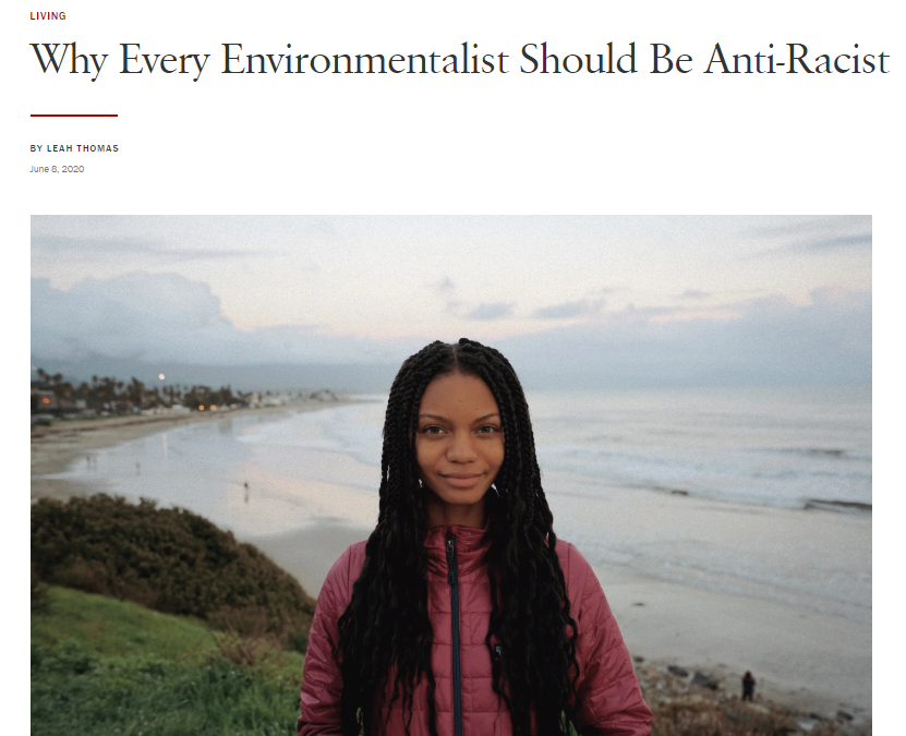 Why Every Environmentalist Should Be Anti-Racist